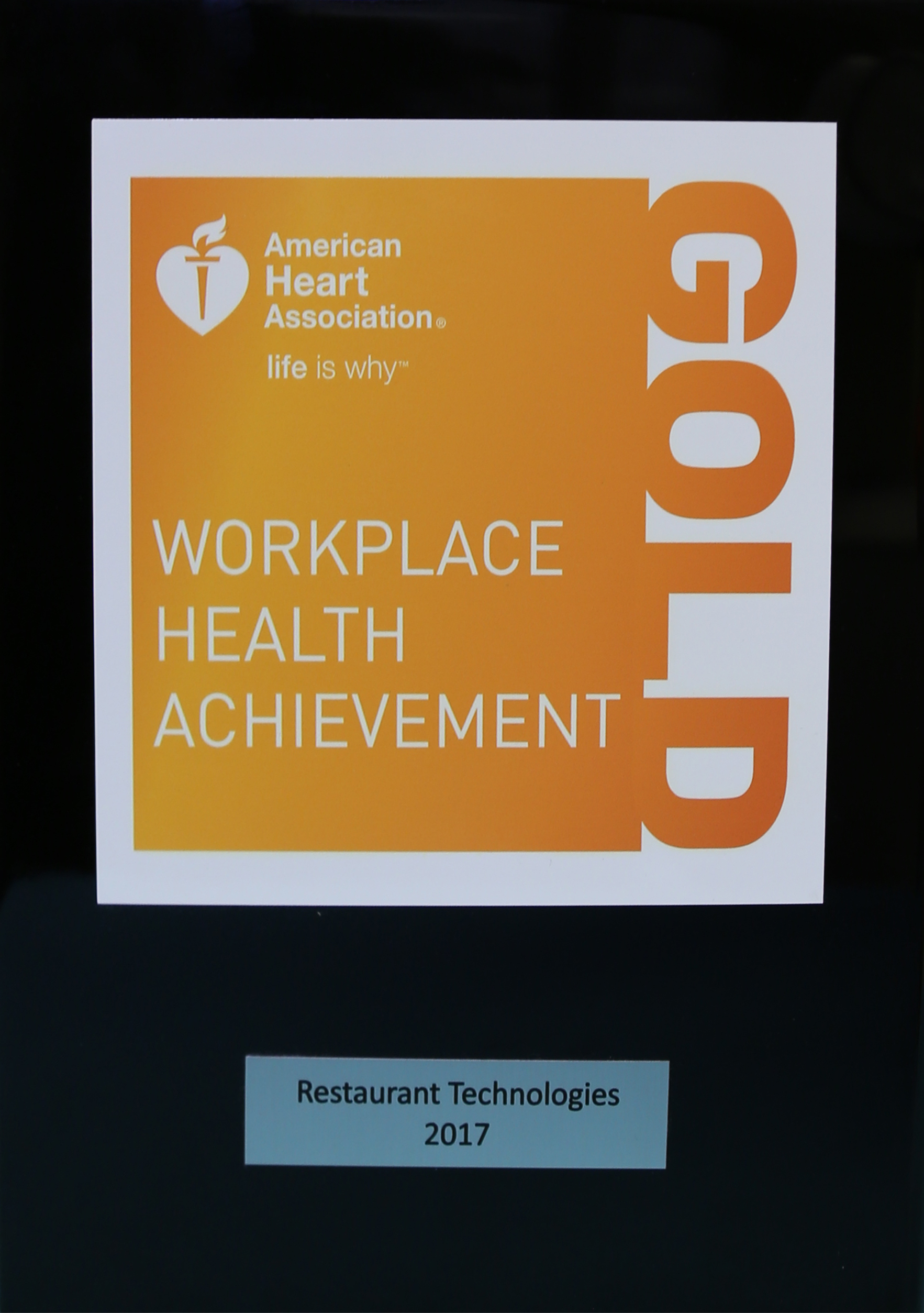 Workplace Health Achievement Award